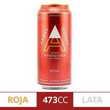 Cerveza Andes Roja Lata 473ml