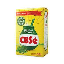 Yerba CBSe Hiervas Cuyanas 500gr