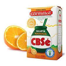 Yerba CBSe Silueta Naranja 500gr
