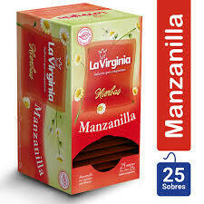 Te La Virginia Manzanilla 25u