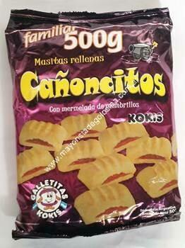 Galletitas Cañoncitos 500gr