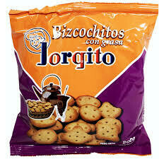 Bizcochitos Jorgito 200gr