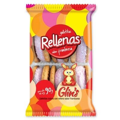 Galletitas Glin´s Rellenas 90gr
