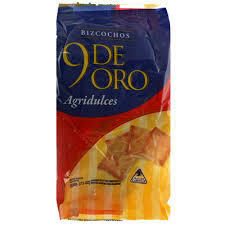 9 de Oro Bizcochitos Agridulce 200gr