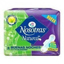 Toallitas Nosotras Natural 8u