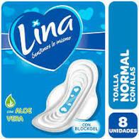 Toallitas Lina Normal 8u