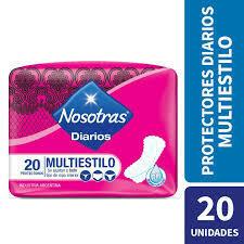 Protectores Nosotras Multiestilo 20u