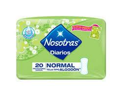 Protectores Nosotras Normal 20u