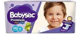 Pañales Babysec Premium XXG 34u