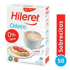 Edulcorante Hileret 1 a 10 Clasico 50u