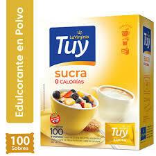 Edulcorantes Tuy Sucra 100u
