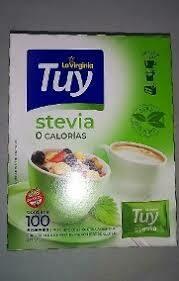 Edulcorantes Tuy Stevia 100u