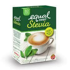 Edulcorante Equal Sweet Stevia 50u