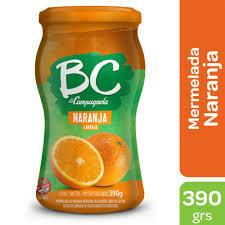 Mermelada BC Naranja 390gr