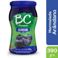 Mermelada BC Arándanos 390gr