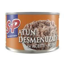 Atún S&P Desmenuzado Aceite y Agua 170gr