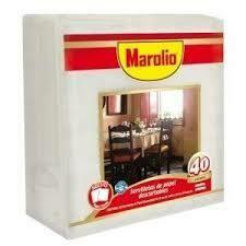 Servilletas Marolio 40u