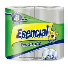 Papel Higiénico Esencial Texturado x4