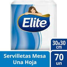 Servilletas Elite 70u