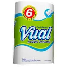 Papel Higiénico Vual Ecológico 6u