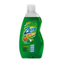 detergente zorro pepino y aloe 500ml