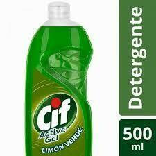 detergente cif active gel limon verde 500ml
