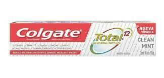 colgate total 12 90ml clean mint