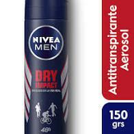 desodorante nivea men aerosol  Varias Fragancias