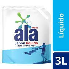 jabon liquido ala 3 litros