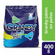 Granby Jabon en Polvo 400gr  (Lavado a mano o Matic )
