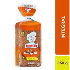 Pan Bimbo Integral 350Gr