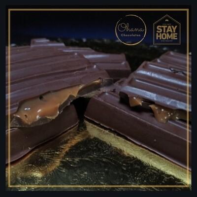 Tableta de Chocolate Rellena - Sin Azúcar y Sin Gluten.