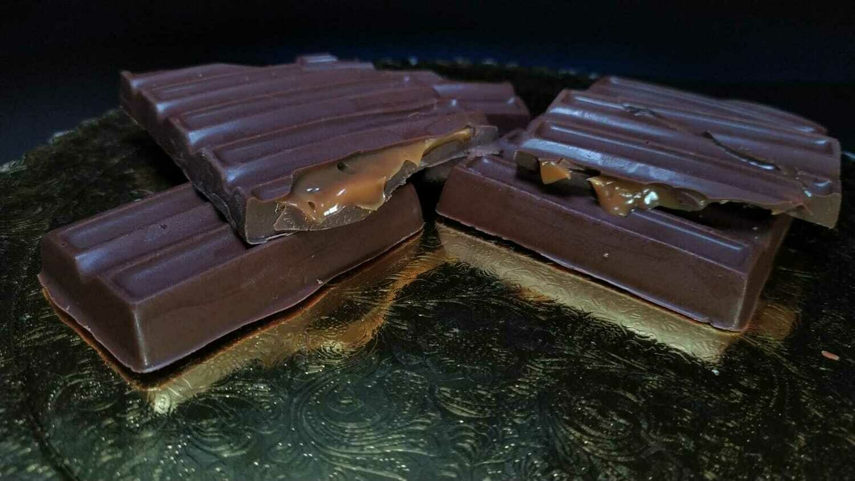 Tableta de Chocolate Rellena - Sin Azúcar.