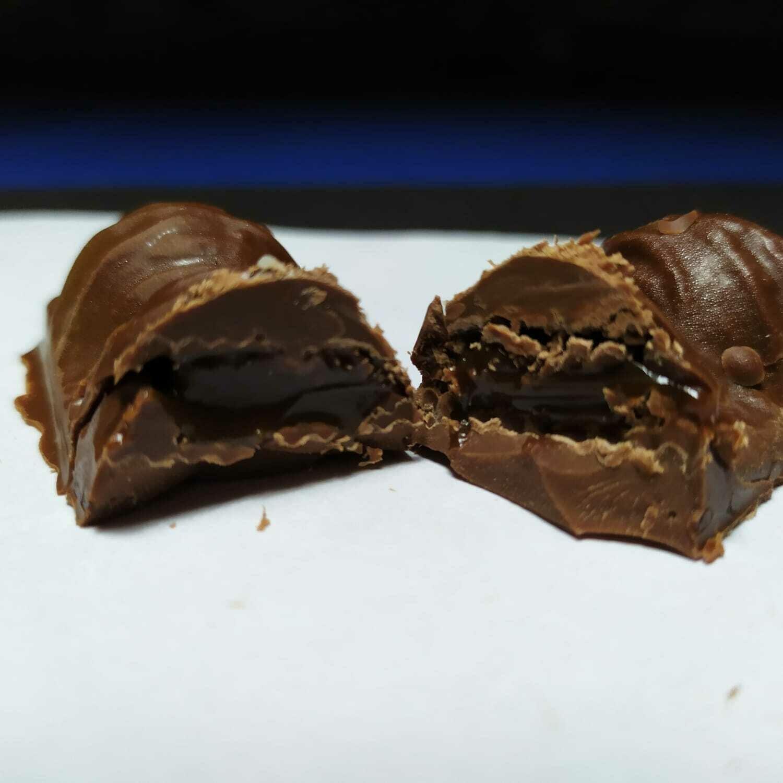 Barrita de Chocolate Rellena - Sin Azúcar.