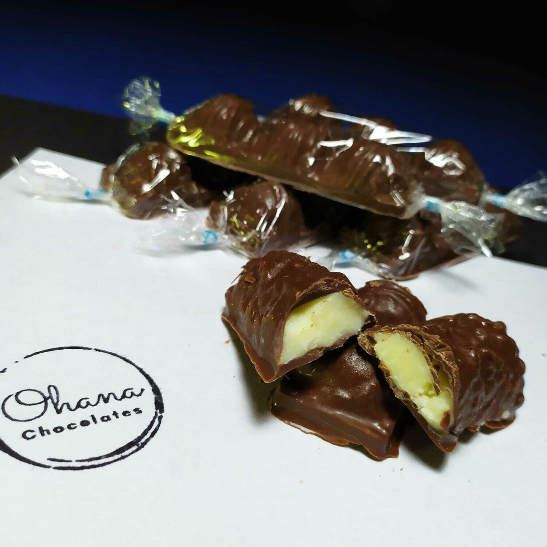 Barrita de Chocolate Rellena - Sin Gluten.