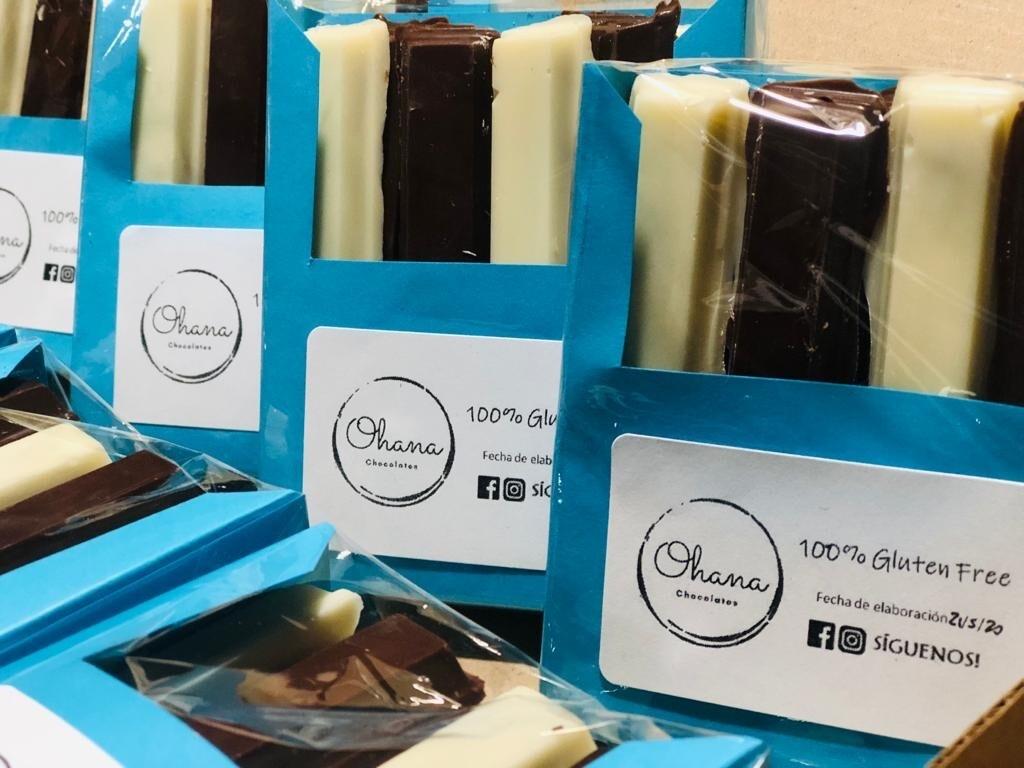Krokant de Chocolate Rellenas - 8 unidades.