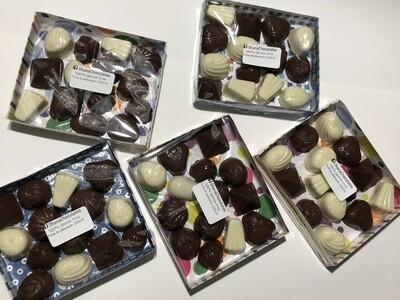 Bombones de Chocolate Rellenos - 14 unidades - Sin Gluten.
