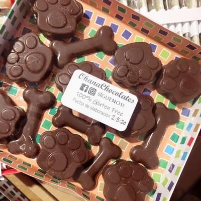Bombones de Chocolate Rellenos - 14 unidades - Sin Azúcar.