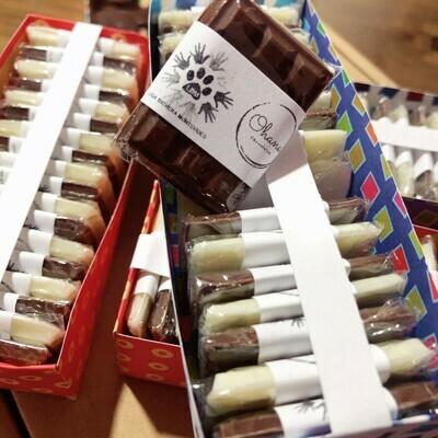 Chocolatines - 18 unidades  - Sin Azúcar y Sin Gluten.