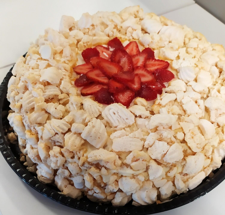 Torta Frutal Mediana - Sin Gluten.