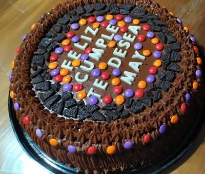 Torta Grande - Sin Gluten.