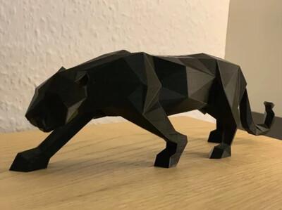 Pantera 3D Low Poly