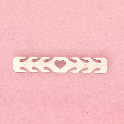 Guarda oreja Corazón (Pack de 10 unidades)