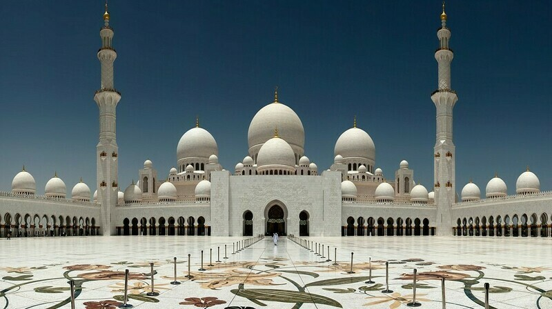 SHEIKH ZAYED GRAND MOSQUE, ABU DHABI + EVENING DESERT SAFARI | PRIVATE CAR | UP TO 7 PERSONS    1200 AED
