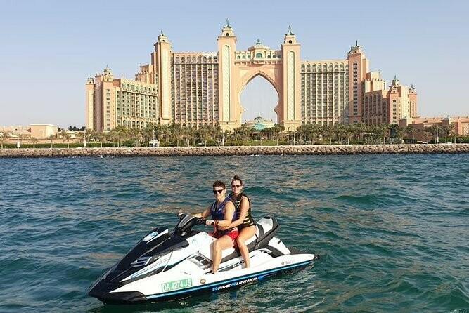 JET SKI, 60 MIN BURJ AL ARAB | THE PALM | JBR TOUR     560 AED