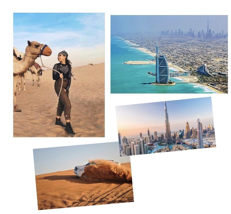 DUBAI CITY TOUR + EVENING DESERT SAFARI      360  AED