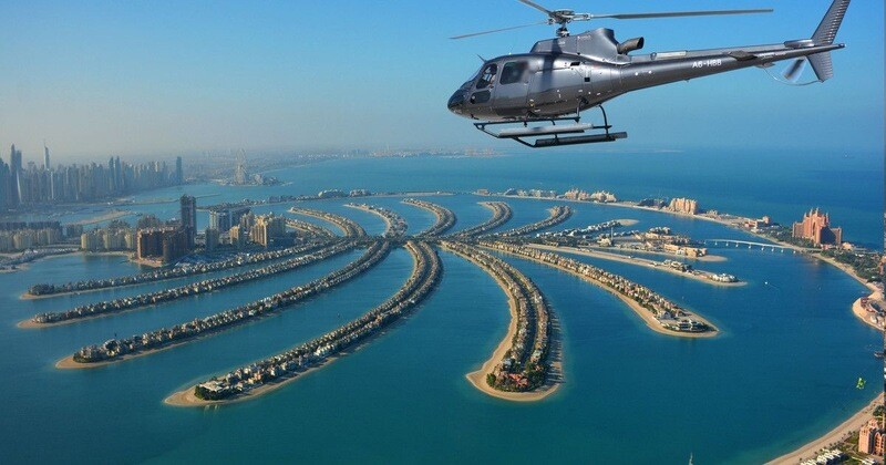HELICOPTER TOUR ( 12 min ) 646 AED