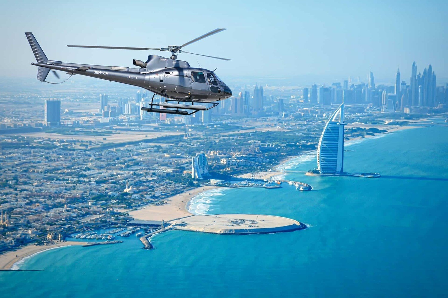 HELICOPTER TOUR ( 22 min ) 1045 AED