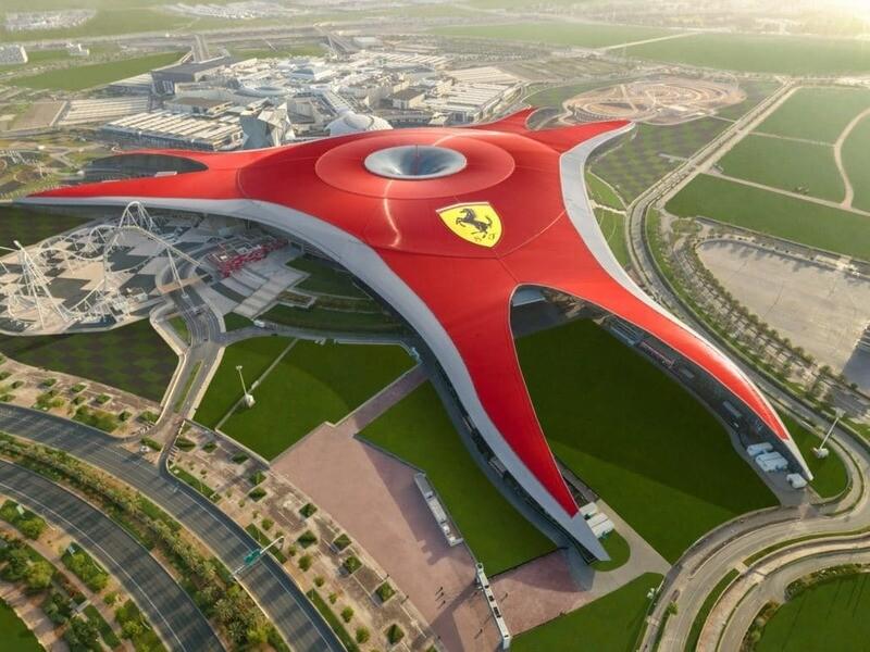 FERRARI WORLD, ABU DHABI 280 AED