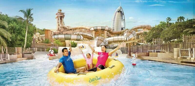 WILD WADI WATERPARK, DUBAI 260 AED